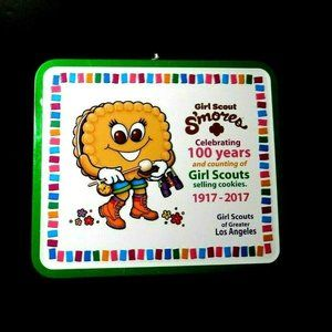 Other - Collectible Girl Scout S'mores Metal Lunch Box